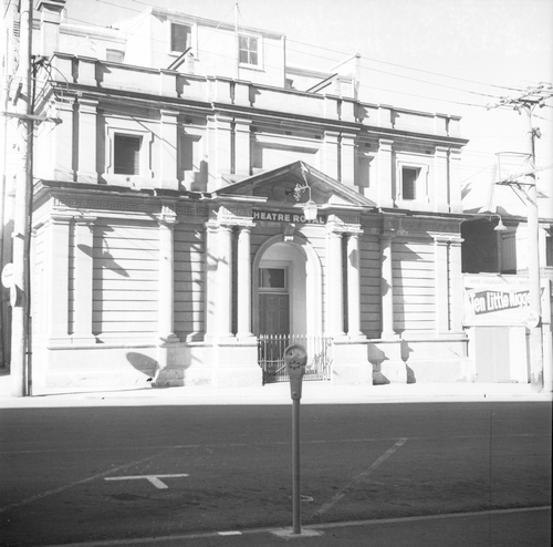 Photograph - Hobart - Theatre Royal Reference: NS3195-1-1492