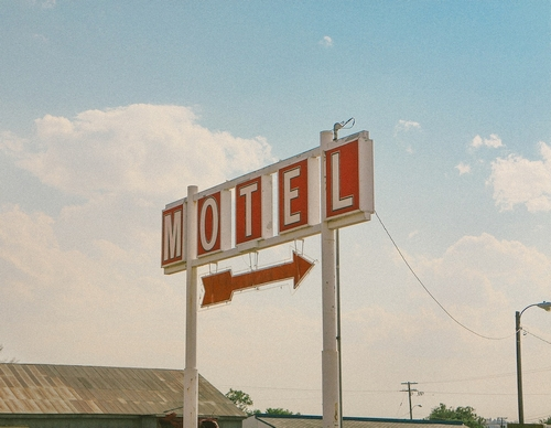 Motel sign from Pixabay free of copyrights under Creative Commons - no attribution required