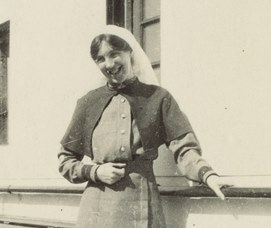 Photograph - Sister A Gordon King, Hospital Ship 'Sicilia'